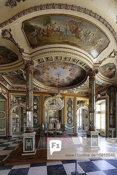 Palacio Nacional de Queluz  Zimmer des Botschafters  Queluz  Portugal  Europa