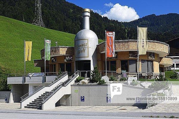 World of enjoyment in Itter  Kitzbühel Alps  Tyrol  Austria  Europe
