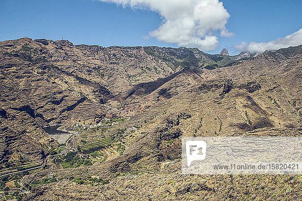 Spian  Kanarische Inseln  Landschaft auf La Gomera