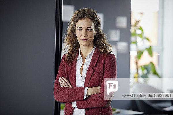 Portait of confident businesswoman in office