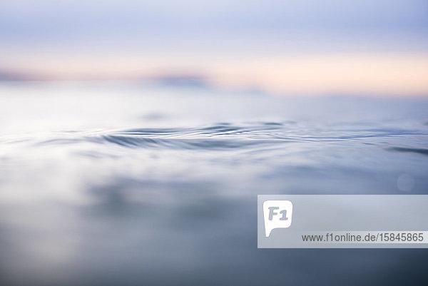 Einzelheiten zu Ozeanwasser im Baskenland Spanien