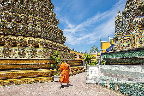Wat Pho (Tempel des Liegenden Buddha)  Bangkok  Thailand