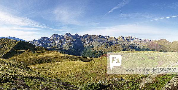 Gipfel im Aspe-Tal