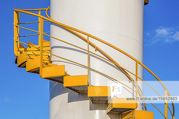 Stairs on an offshore Drillship in the Gulf of Mexico