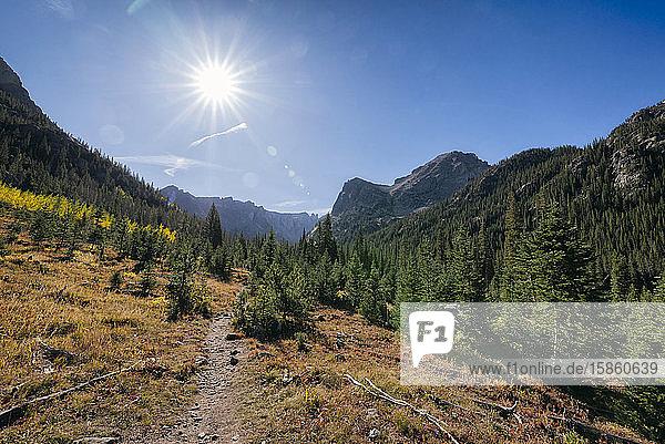 Berglandschaft in der Wildnis der Indian Peaks
