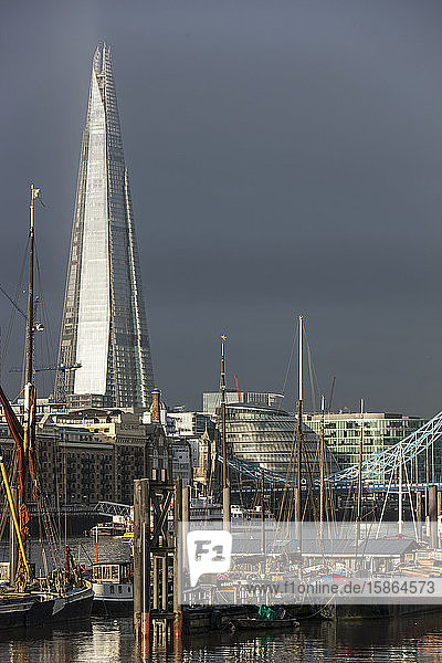 The Shard Building  London  England  United Kingdom  Europe