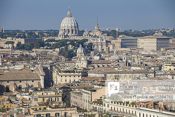 City view  Rome  Lazio  Italy  Europe