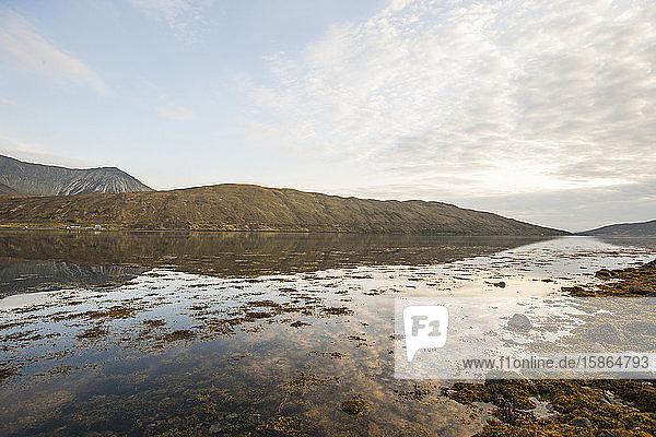 Remote loch on Isle of Skye  Inner Hebrides  Scotland  United Kingdom  Europe