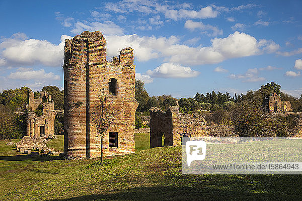 Villa de Massenzio  Ancient Appian Way  Rome  Lazio  Italy  Europe