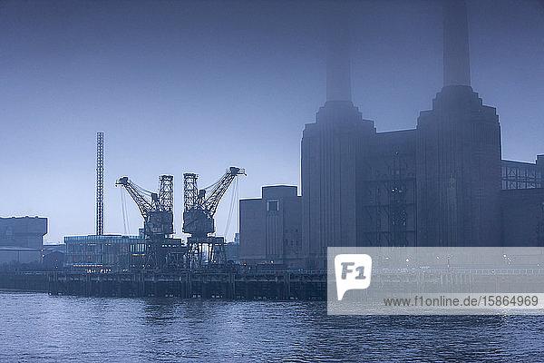 Battersea Power Station  London  England  United Kingdom  Europe