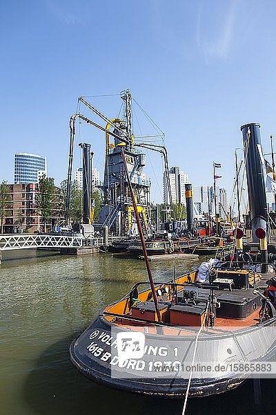 Maritime Museum in City Center  Rotterdam  The Netherlands  Europe