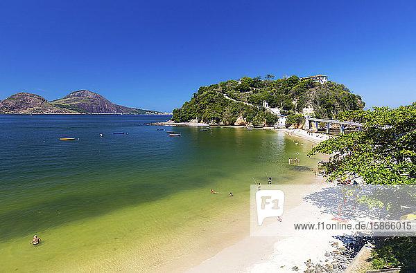 Praia de Icarai; Niteroi  Rio de Janeiro  Brazil