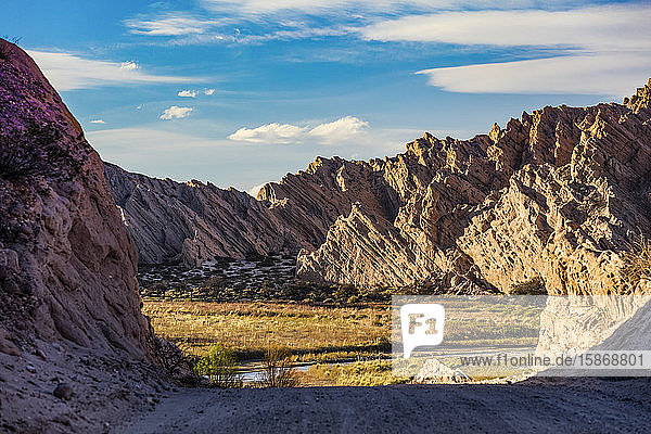 Quebrada de las Flechas; Angastaco  Salta Province  Argentina