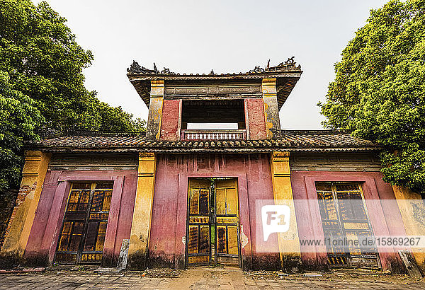Imperial City; Hue  Thua Thien-Hue Province  Vietnam