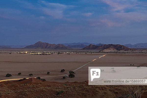 Elim dune  Namib Desert; Sesriem  Namibia