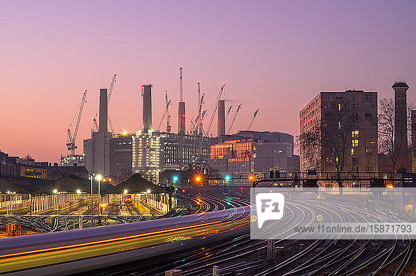 Battersea Power Station being redeveloped  London  England  United Kingdom  Europe