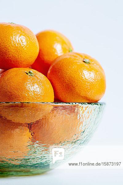 Mandarins in bowl