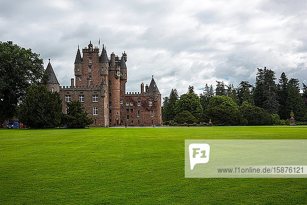 Great Britain  Scotland  Fife area  Angus  the Glamis castle  childhood home of the Queen Elizabeth.