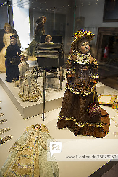 Rocca di Angera Borromeo fortress  Angera  Varese  Lombardy  Italy  Europe. Doll and toy museum