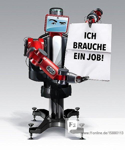 Illustration  robot needs work ( in Deutsch))