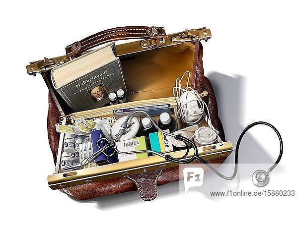 Illustration  doctor's bag