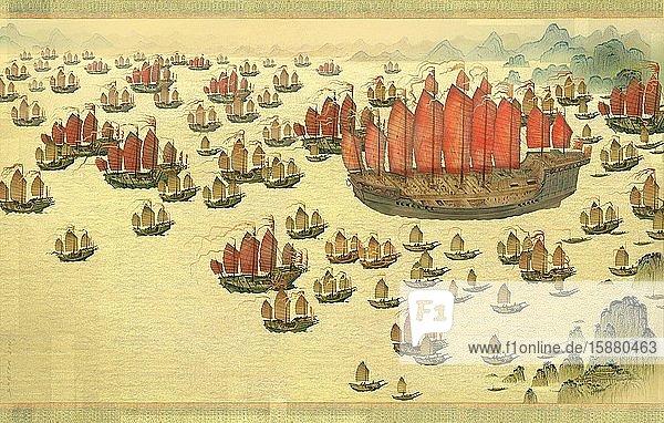 Illustration  Ming armada