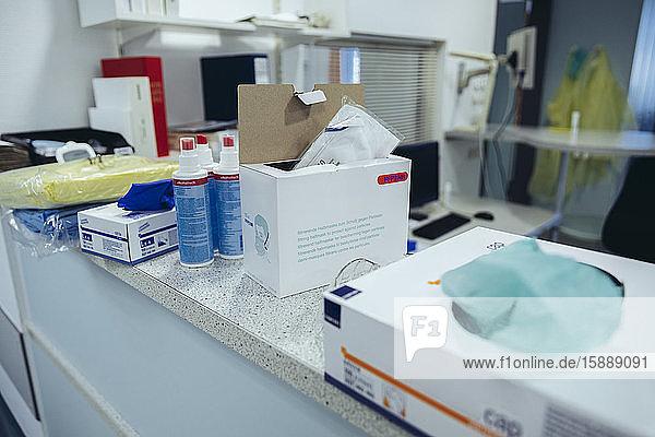Persönliche Schutzausrüstung im Krankenhaus