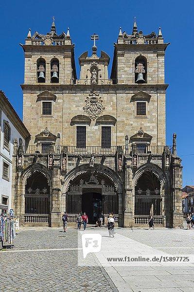 Da Sé Cathedral  Braga  Minho  Portugal.