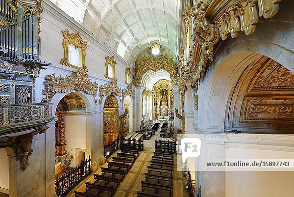 St. Martin of Tibaes Monastery  Main Chapel  Braga  Minho  Portugal.
