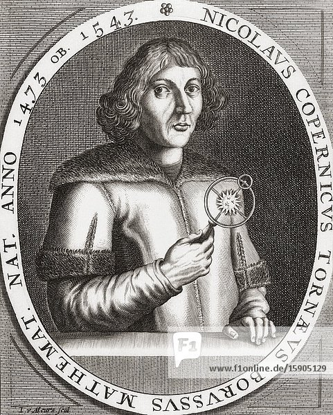 Nicolaus Copernicus  1473-1543. Polish Renaissance-era polymath  mathematician  astronomer  physician  classics scholar  translator  governor  diplomat  and economist.