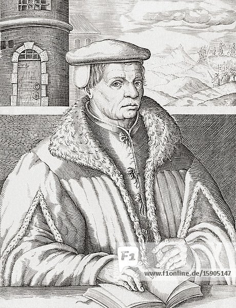 Thomas Müntzer  c. 1489-1525. German preacher and radical theologian. Leader in German Peasant's War.