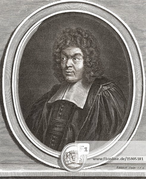 Paul Pellisson  1624-1693. French author.
