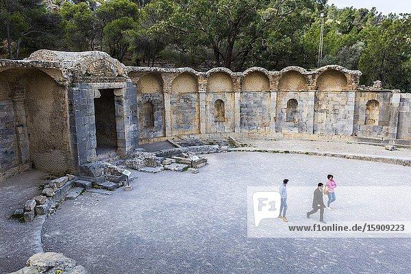 Water Temple. Zaghouan. Tunisia.