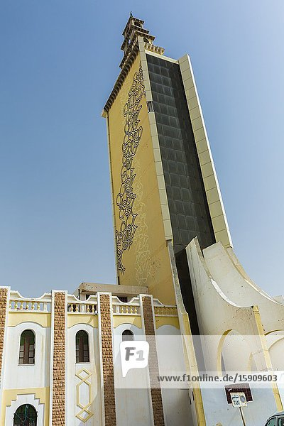 Mosque. Gabes city  Tunisia. Africa.