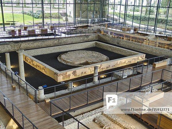 Vesunna Gallo-Roman Museum  Perigueux  Dordogne Department  Nouvelle Aquitaine  France.