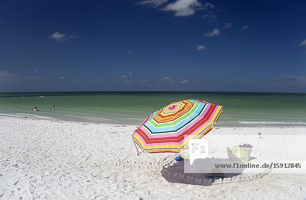 Siesta Key beach  Siesta Key  Sarasota  Florida  USA..