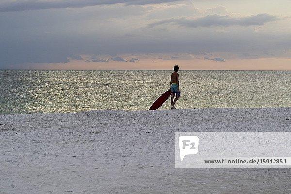 Siesta Key beach  Siesta Key  Sarasota  Florida  USA.