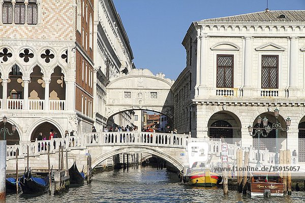 Grand canal and the palaces on January 26  2015 in Venice Veneto Italy.