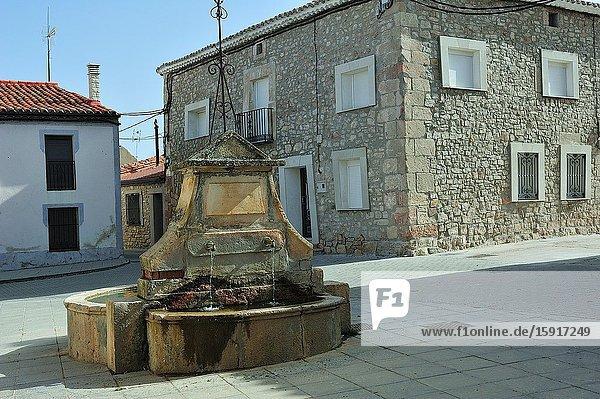 Alcolea del Pinar town  Guadalajara province  Spain