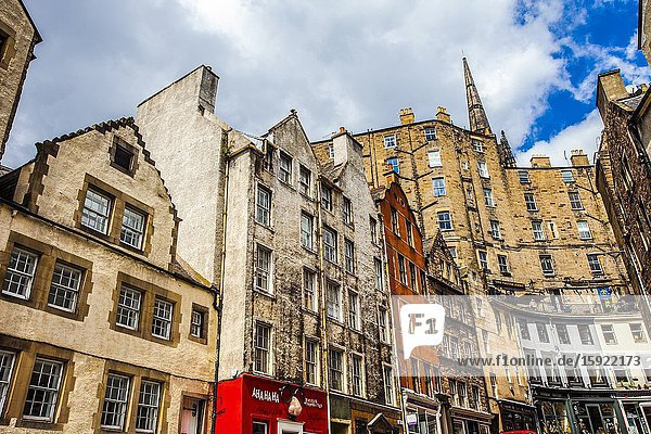 Victoria Street  Old Town  Edinburgh  Scotland  United Kingdom  Europe.