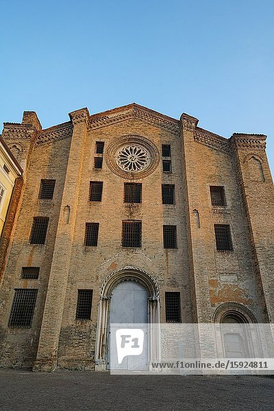 San Francesco del Prato church,  it was the city's jail,  Parma,  Emilia Romagna,  Italy,  Europe