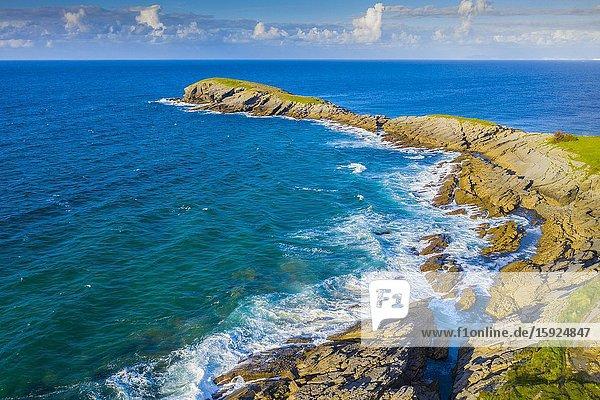 Coastal landscape. La Ballena. Sonabia (Castro Urdiales) Cantabria  Spain  Europe.