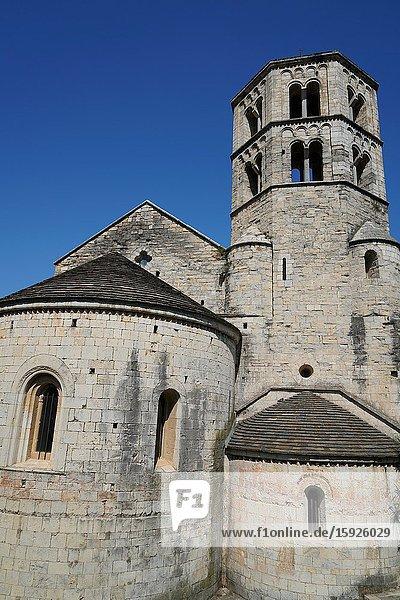 Sant Pere de Galligants Benedictine abbey  Girona  Catalonia  Spain  Europe