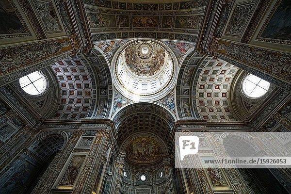 Basilica of Sant'Andrea  Mantua  Lombardy  Italy  Europe