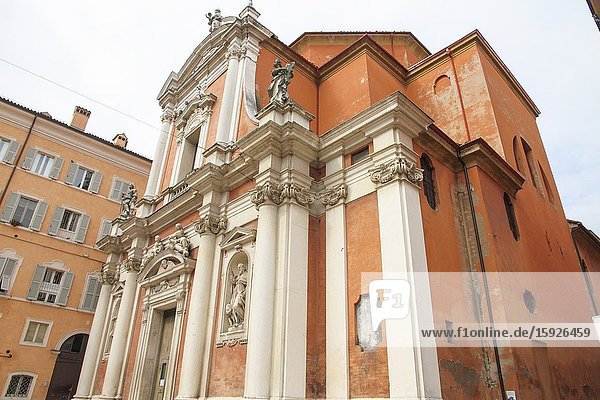 Modena  Italy. Church of Saint George (San Giorgio).