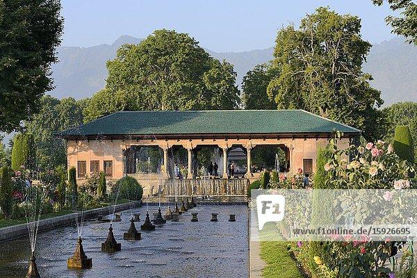 India  Jammu & Kashmir  Srinagar  Shalimar gardens.