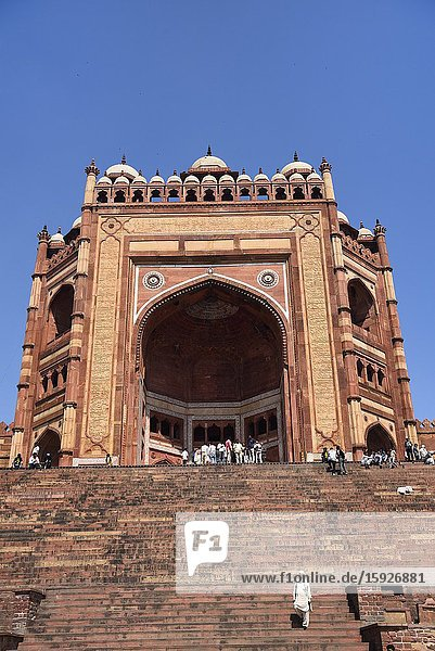 India  Uttar Pradesh  World Heritage Site  Fatehpur Sikri  Jama Masjid (16th C)  the Great Mosque..