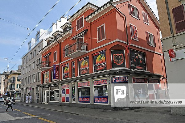 Zürich/Switzerland: The entertainment industry at 'Langstrasse' has come to a still stand  like elswhere. The Lockdown will step by step untightend in may and june.