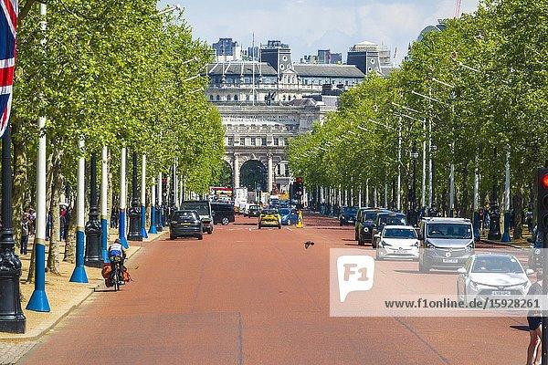 The Mall Westminster London England United Kingdom Capital River Thames UK Europe EU.