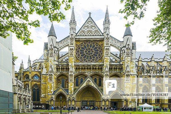 Westminster Abbey London England United Kingdom Capital River Thames UK Europe EU.